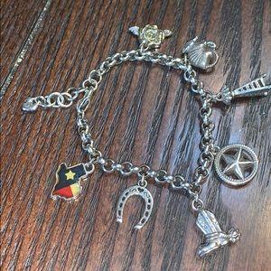 Brighton Texas collectible bracelet